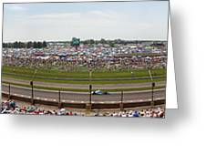Indianapolis Race Track Greeting Card