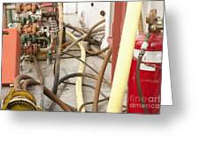 Industrial Interior Greeting Card by Shannon Fagan