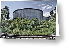 Industrial Tank Greeting Card