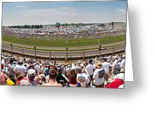 Indy 500  Race Day Greeting Card