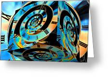 Infinity Time Cube Greeting Card