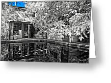 Infrared Summer Greeting Card