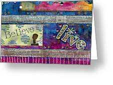 Infuse Me With Laughter Greeting Card