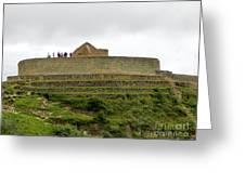 Ingapirca Inca Ruins   Ecuador Greeting Card