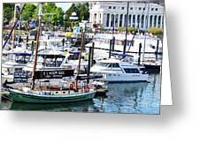 Inner Harbour Greeting Card