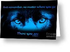 Inner Self Greeting Card by Smilin Eyes  Treasures