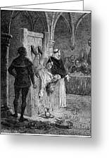 Inquisition: Torture Greeting Card by Granger