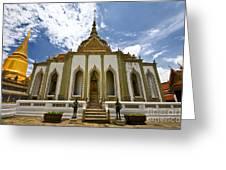 Inside The Grand Palace Bangkok Image 2 Greeting Card