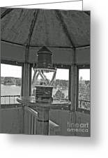 Inside The Lighthouse Tower. Uostadvaris. Lithuania. Greeting Card