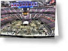 Inside The Palace Of Auburn Hills 2 Greeting Card