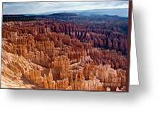 Inspiration Point Greeting Card by Jim Chamberlain
