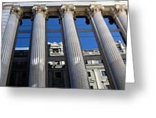 Institute Of Cervantes In Madrid Greeting Card