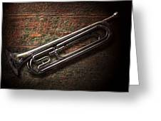 Instrument - Horn - The Bugle Greeting Card