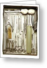 Instruments Used In Orthopedic Surgery Greeting Card