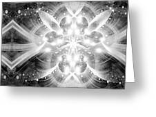 Intelligent Design Bw 2 Greeting Card