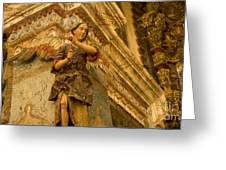 Interior San Xavier Del Bac Greeting Card