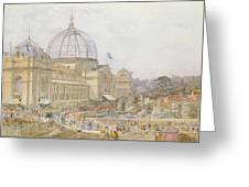 International Exhibition Greeting Card by Edward Sheratt Cole