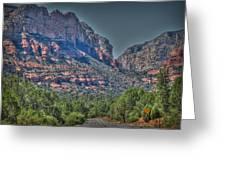 Into Boynton Canyon Greeting Card