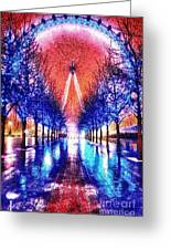 Into The Eye Greeting Card
