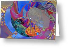 Into The Inner World Greeting Card