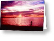 Into The Silence Greeting Card