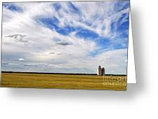 Into The Wide Open Greeting Card