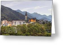 Intragna - Ticino Greeting Card