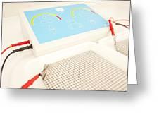 Iontophoresis Equipment Greeting Card by