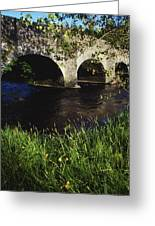 Ireland Bridge Over Water Greeting Card