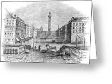 Ireland: Dublin, 1843 Greeting Card