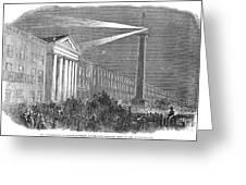 Ireland: Dublin, 1849 Greeting Card