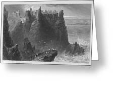 Ireland: Dunluce Castle Greeting Card
