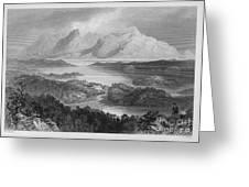 Ireland: Garromin Lake Greeting Card