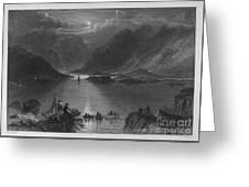 Ireland: Killary Harbor Greeting Card