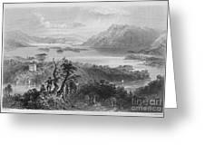 Ireland: Lough Gill, C1840 Greeting Card