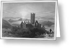 Ireland: Rosserk Abbey Greeting Card