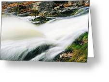 Ireland Waterfall Greeting Card