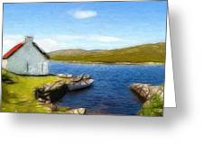 Irelands Beauty Greeting Card