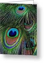 Iridescent Eyes Greeting Card