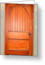 Irish Door One Greeting Card