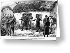 Irish Land League, 1887 Greeting Card