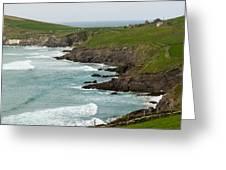 Irish Sea Coast 2 Greeting Card