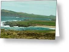 Irish Sea Coast 3 Greeting Card