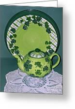 Irish Tea Greeting Card