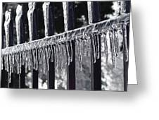 Iron And Ice 3 Greeting Card