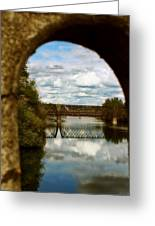 Iron Bridge Centenial Trail Greeting Card