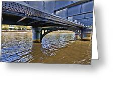 Iron Bridge Greeting Card