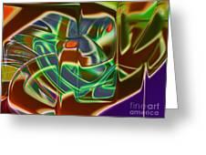 Iron Mask Greeting Card