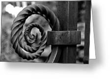 Iron Swirls Greeting Card