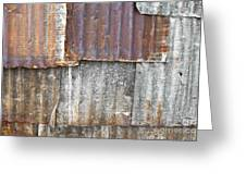 Iron Weathering A Variety Of Wall Greeting Card by Chavalit Kamolthamanon